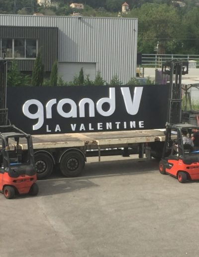 Grand V la Valentine, centre commercial à marseille